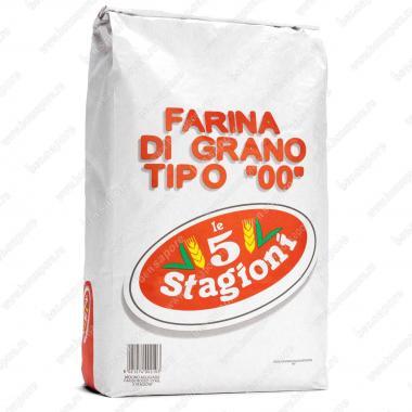 Мука из мягких сортов пшеницы типа 00 Голд le 5 Stagioni 25 кг