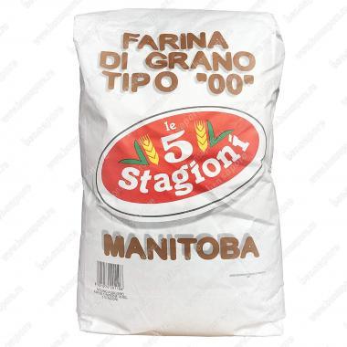 Мука из мягких сортов пшеницы типа 00 Манитоба le 5 Stagioni 25 кг