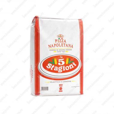 Мука из мягких сортов пшеницы типа 00 Пицца Наполетана le 5 Stagioni 1 кг