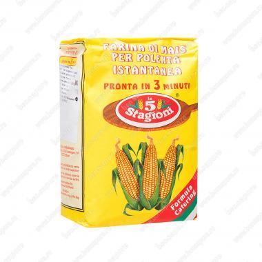 Мука кукурузная Полента Истантанеа le 5 Stagioni 1 кг (18%)