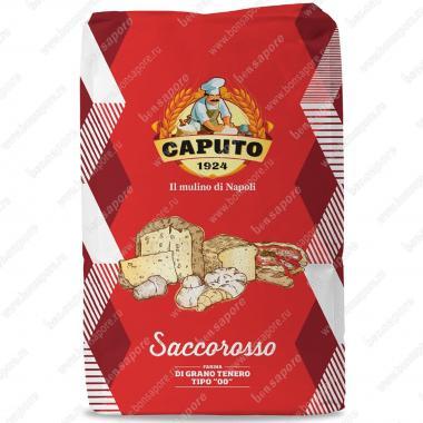 Мука из мягких сортов пшеницы тип 00 Сакко Россо Caputo 25 кг, W 300-320