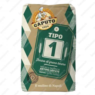Мука из мягких сортов пшеницы тип 1 Типо 1 Caputo 25 кг, W 250-270