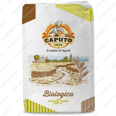 Мука из мягких сортов пшеницы тип 0 БИО Caputo 25 кг, W 250-270