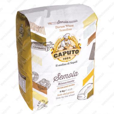 Мука твердых сортов пшеницы Семола 5 кг Caputo