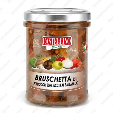 Соус Брускетта из полусушёных помидоров с бальзамическим уксусом Castellino 180 г