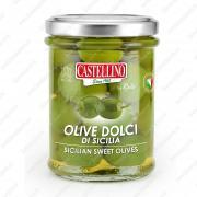 Оливки зелёные Дольчи ди Сицилия 180 г