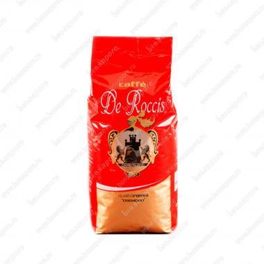 Кофе в зёрнах Росса Кремозо (Rossa Cremoso) De Roccis 500 г