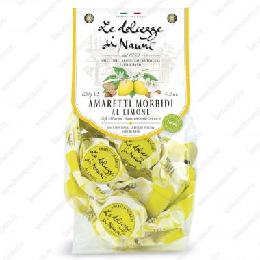 Амаретти мягкие с Лимоном 120 г le Dolcezze di Nanni Без глютена, Веган