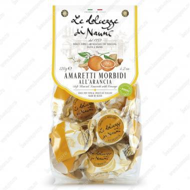 Амаретти мягкие с Апельсином 120 г le Dolcezze di Nanni Без глютена, Веган