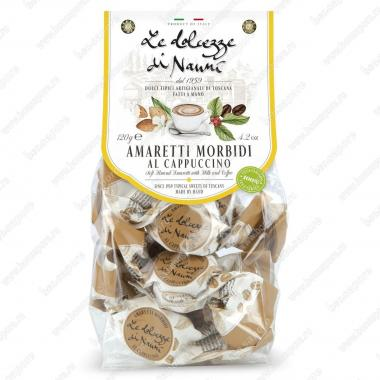 Амаретти мягкие со вкусом Капучино 120 г le Dolcezze di Nanni Без глютена, Веган