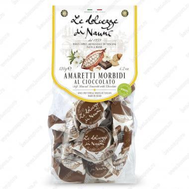 Амаретти мягкие с Шоколадом 120 г le Dolcezze di Nanni Без глютена, Веган