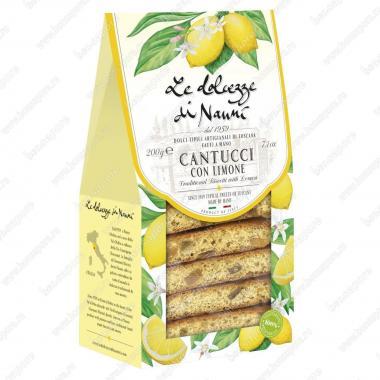 Кантуччини с Лимоном 200 г le Dolcezze di Nanni Веган