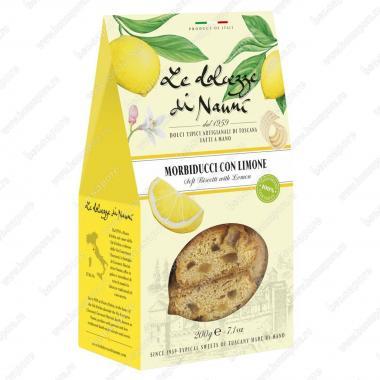Мини-Кантуччини мягкие с Лимоном 200 г le Dolcezze di Nanni Веган