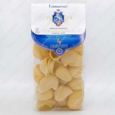Паста Лумакони IGP Gragnano 500 г Ferdinando II
