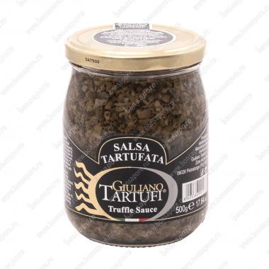 Соус грибной трюфельный Salsa Tartufata 500 г, Giuliano Tartufi