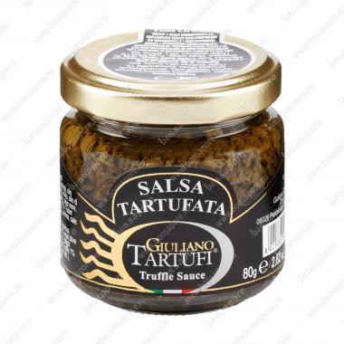 Соус грибной трюфельный Salsa Tartufata 80 г, Giuliano Tartufi
