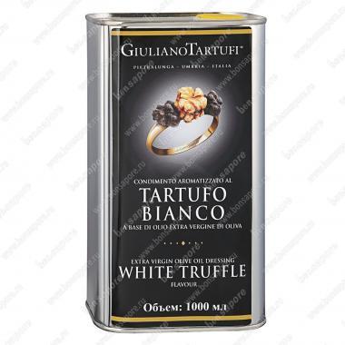 Масло оливковое экстра верджине с белым трюфелем 1 л, Giuliano Tartufi