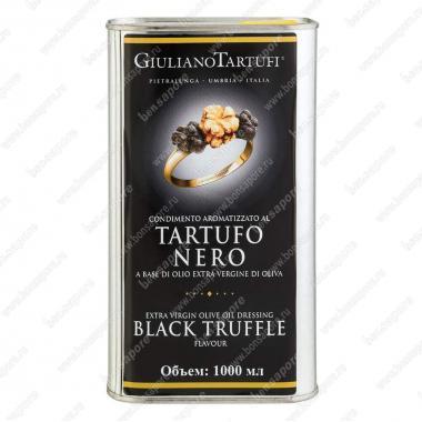 Масло оливковое экстра верджине с черным трюфелем 1 л, Giuliano Tartufi