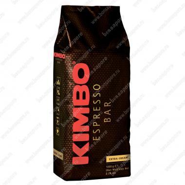 Кофе в зёрнах Экстра Крим (Extra Cream) Kimbo 1 кг