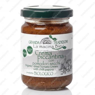Соус-крем Пикантный из сушёных Помидоров 130 г La Macina BIO