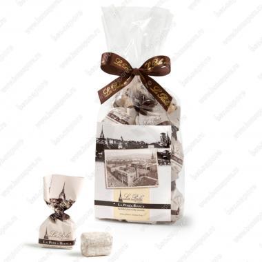Конфеты шоколадные Трюфель Белая жемчужина Без Глютена La Perla di Torino 200 г