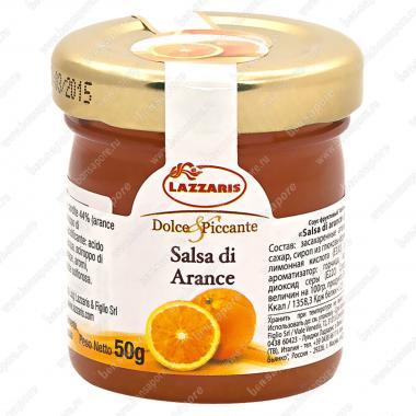 Соус фруктовый из апельсинов Salsa di arance 50 г, Lazzaris