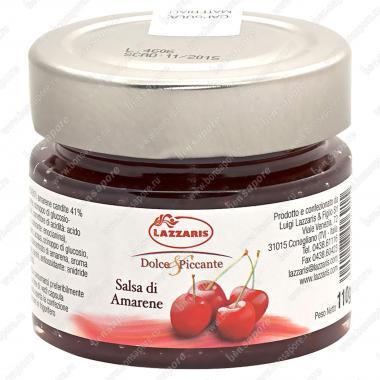 Соус фруктовый из вишни Salsa di amarene 110 г, Lazzaris
