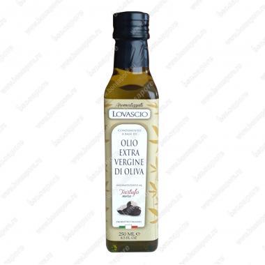 Оливковое масло э/в с Чёрным Трюфелем 250 мл 100% Italiano Lovascio
