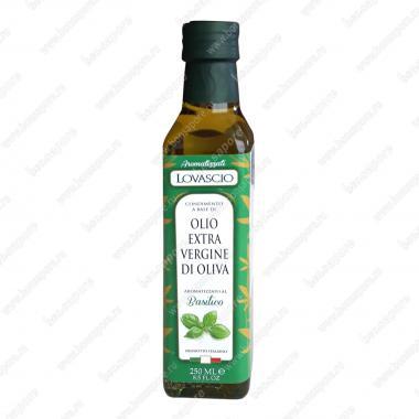 Оливковое масло э/в с Базиликом 250 мл 100% Italiano Lovascio