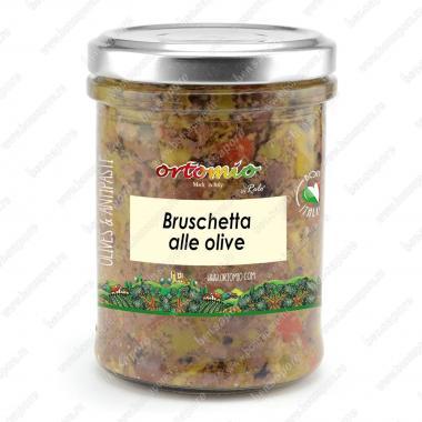 Соус Брускетта из оливок Ortomio 180 г