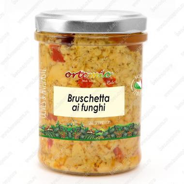 Соус Брускетта из грибов Ortomio 180 г