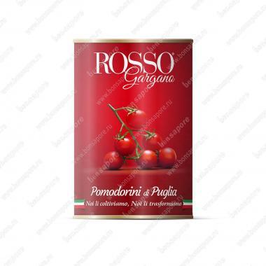 Томаты Черри в собственном соку Rosso Gargano 400 г