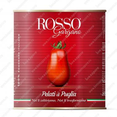 Томаты очищенные целые в собственном соку высокой концентрации Rosso Gargano 2,55 кг